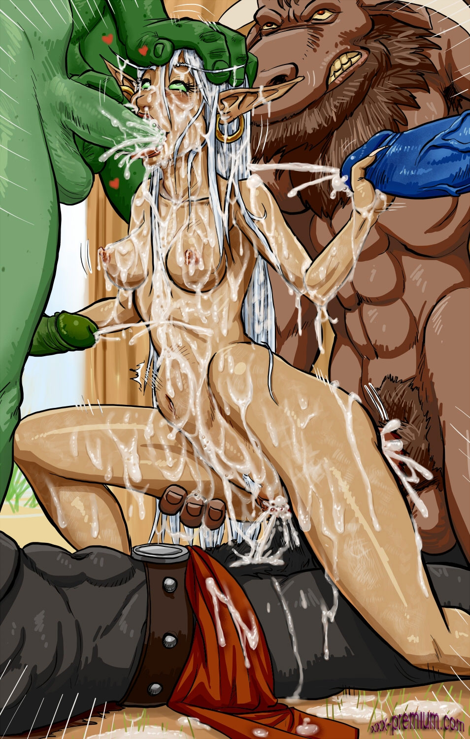 Hentai tauren in bar nude comic